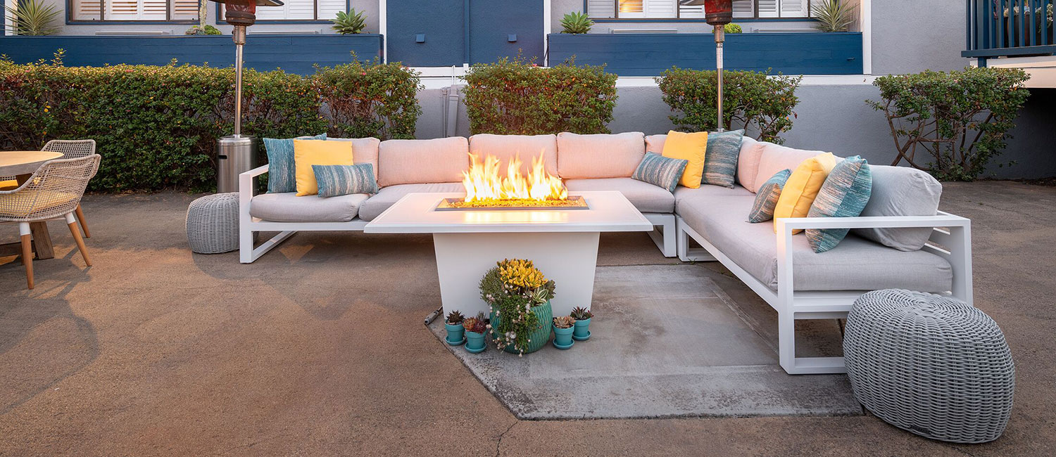 OUR OUTDOOR SPACES ARE DESIGNED FOR RELAXATION