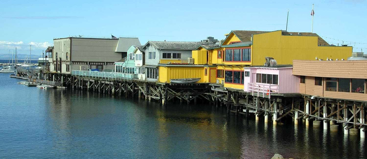 POPULAR MONTEREY ATTRACTIONS ARE NEAR OUR IDEAL LOCATION